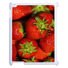 Strawberry  Apple iPad 2 Case (White)