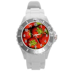 Strawberry  Plastic Sport Watch (large)