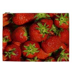 Strawberry  Cosmetic Bag (XXL)