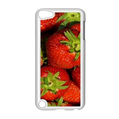 Strawberry  Apple iPod Touch 5 Case (White)