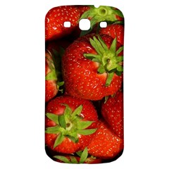 Strawberry  Samsung Galaxy S3 S Iii Classic Hardshell Back Case