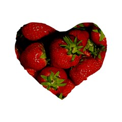 Strawberry  16  Premium Heart Shape Cushion
