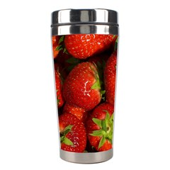 Strawberry  Stainless Steel Travel Tumbler