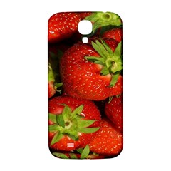 Strawberry  Samsung Galaxy S4 I9500/I9505  Hardshell Back Case