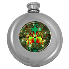 Magic Balls Hip Flask (Round)