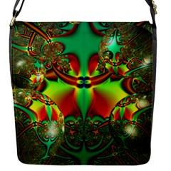 Magic Balls Flap Closure Messenger Bag (small)