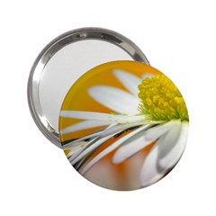 Daisy With Drops Handbag Mirror (2.25 )
