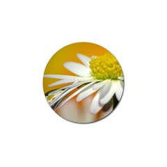 Daisy With Drops Golf Ball Marker 10 Pack