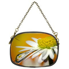 Daisy With Drops Chain Purse (One Side)