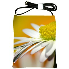 Daisy With Drops Shoulder Sling Bag