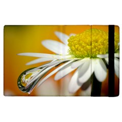 Daisy With Drops Apple iPad 3/4 Flip Case