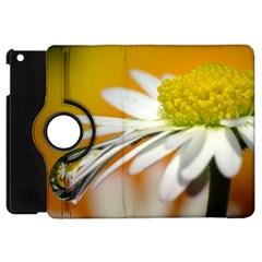 Daisy With Drops Apple iPad Mini Flip 360 Case