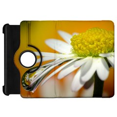 Daisy With Drops Kindle Fire Hd 7  Flip 360 Case