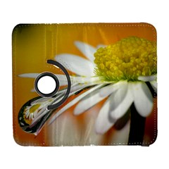 Daisy With Drops Samsung Galaxy S  III Flip 360 Case