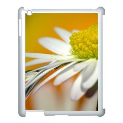 Daisy With Drops Apple Ipad 3/4 Case (white)