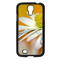 Daisy With Drops Samsung Galaxy S4 I9500/ I9505 Case (Black)