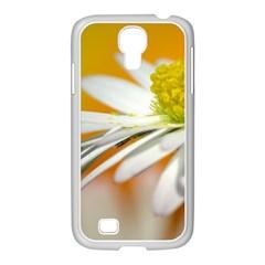 Daisy With Drops Samsung GALAXY S4 I9500/ I9505 Case (White)