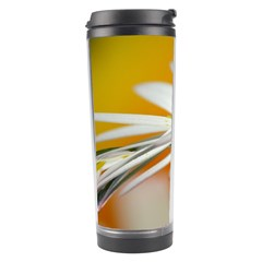 Daisy With Drops Travel Tumbler
