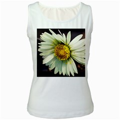 Daisy Womens  Tank Top (white)