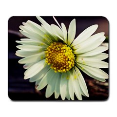 Daisy Large Mouse Pad (Rectangle)