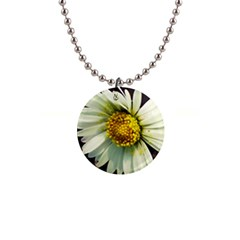 Daisy Button Necklace
