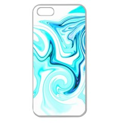 L434 Apple Seamless iPhone 5 Case (Clear)