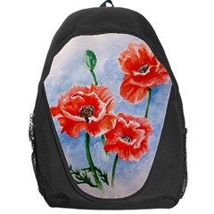 Poppies Backpack Bag