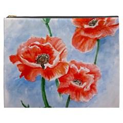 Poppies Cosmetic Bag (xxxl)