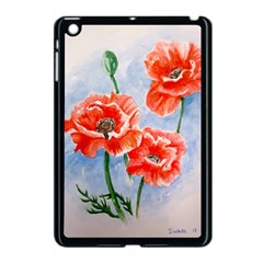 Poppies Apple iPad Mini Case (Black)