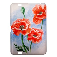 Poppies Kindle Fire HD 8.9  Hardshell Case