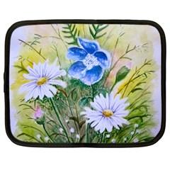 Meadow Flowers Netbook Case (Large)
