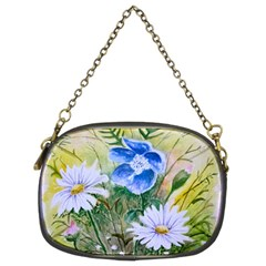 Meadow Flowers Chain Purse (two Sides)