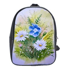 Meadow Flowers School Bag (Large)