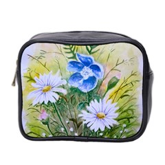 Meadow Flowers Mini Toiletries Bag (Two Sides)