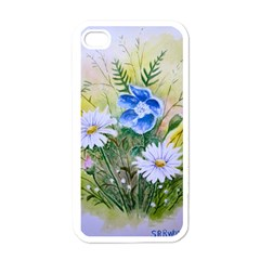 Meadow Flowers Apple Iphone 4 Case (white)