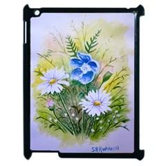 Meadow Flowers Apple iPad 2 Case (Black)
