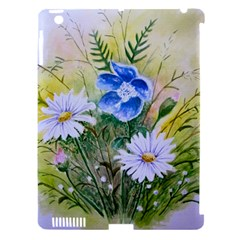 Meadow Flowers Apple iPad 3/4 Hardshell Case (Compatible with Smart Cover)