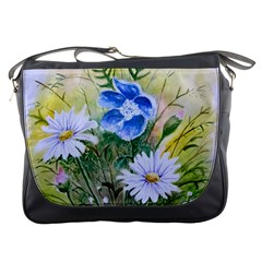 Meadow Flowers Messenger Bag