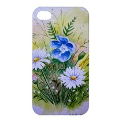 Meadow Flowers Apple Iphone 4/4s Premium Hardshell Case