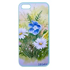 Meadow Flowers Apple Seamless iPhone 5 Case (Color)