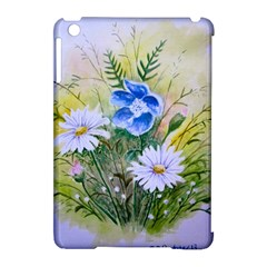 Meadow Flowers Apple iPad Mini Hardshell Case (Compatible with Smart Cover)
