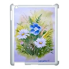 Meadow Flowers Apple Ipad 3/4 Case (white)