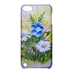 Meadow Flowers Apple Ipod Touch 5 Hardshell Case With Stand