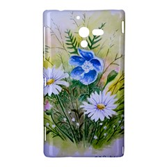Meadow Flowers Sony Xperia ZL L35H Hardshell Case