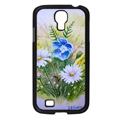 Meadow Flowers Samsung Galaxy S4 I9500/ I9505 Case (Black)