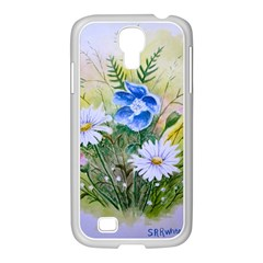 Meadow Flowers Samsung Galaxy S4 I9500/ I9505 Case (white)