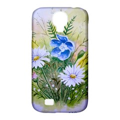 Meadow Flowers Samsung Galaxy S4 Classic Hardshell Case (PC+Silicone)