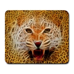 Electrified Fractal Jaguar Large Mousepad