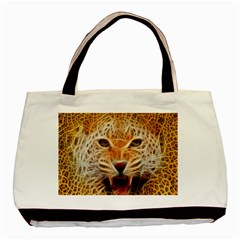 Electrified Fractal Jaguar Classic Tote Bag (Two Sides)