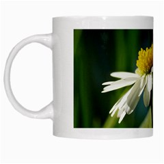 Daisy White Coffee Mug